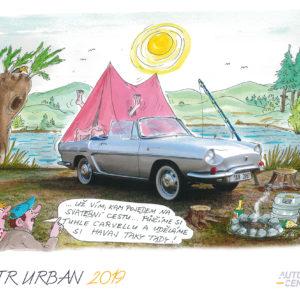 A2 kalendář KOUT Urban 2019